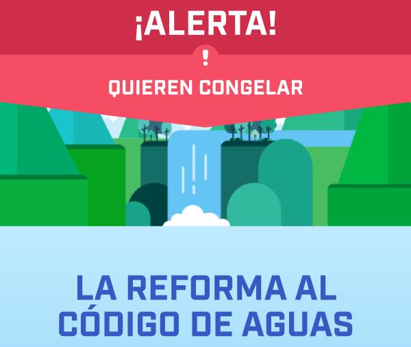 Infografía Educativa Reforma del Código de Aguas